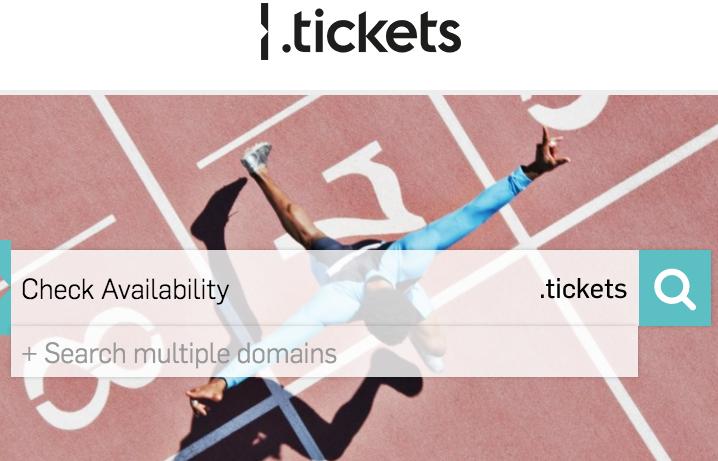 30.000 solicitudes para adquirir dominios .tickets en el primer día de venta