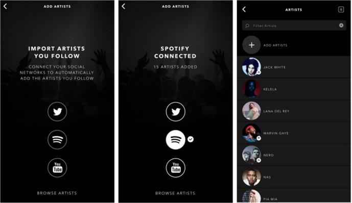 Vevo integra los datos de Spotify, Youtube y Twitter para mejorar sus recomendaciones