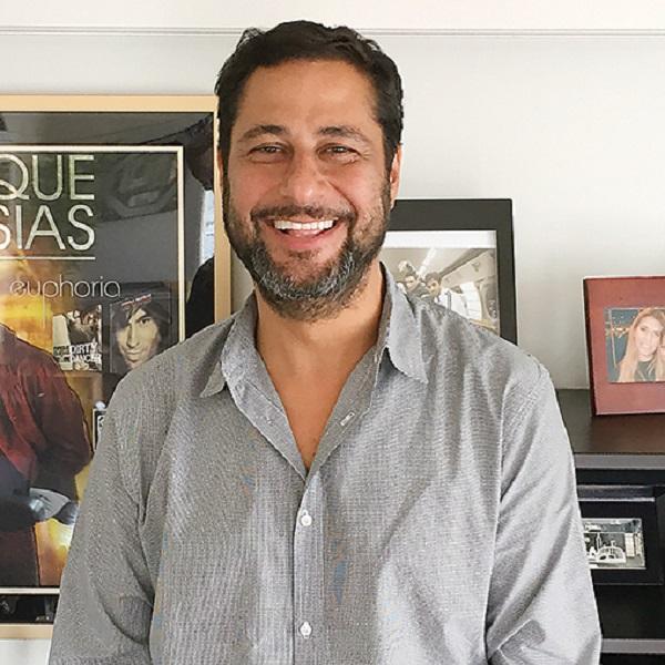 Unos minutos con Fernando Giaccardi (manager de Enrique Iglesias)