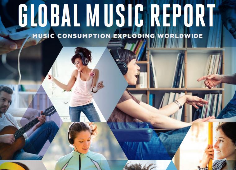 IFPI: Los ingresos discográficos en digital superan los físicos y crece el sector un 3,2% en 2015