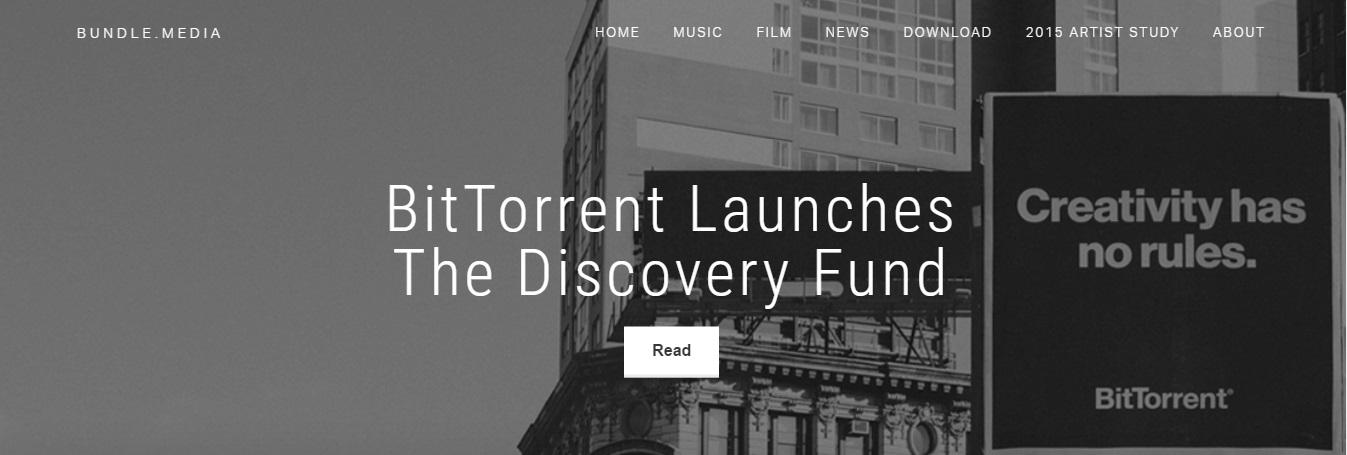 BitTorrent lanza Discovery Fund para artistas emergentes