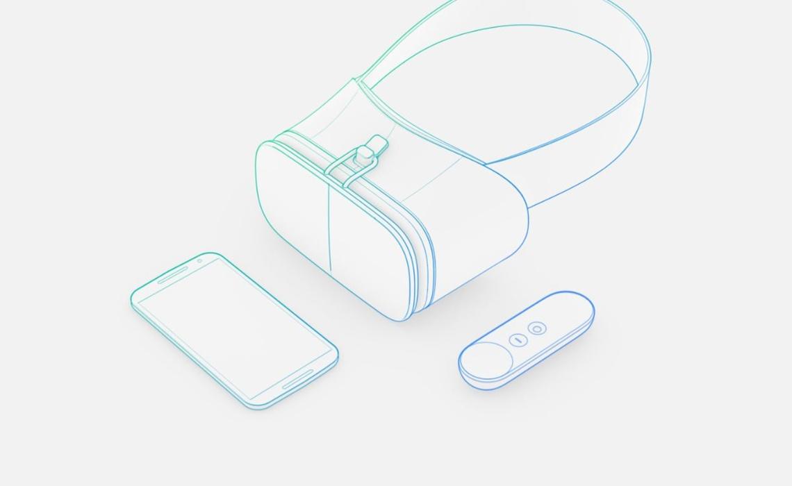 """Google lanzará plataforma de realidad virtual """"Daydream"""""""