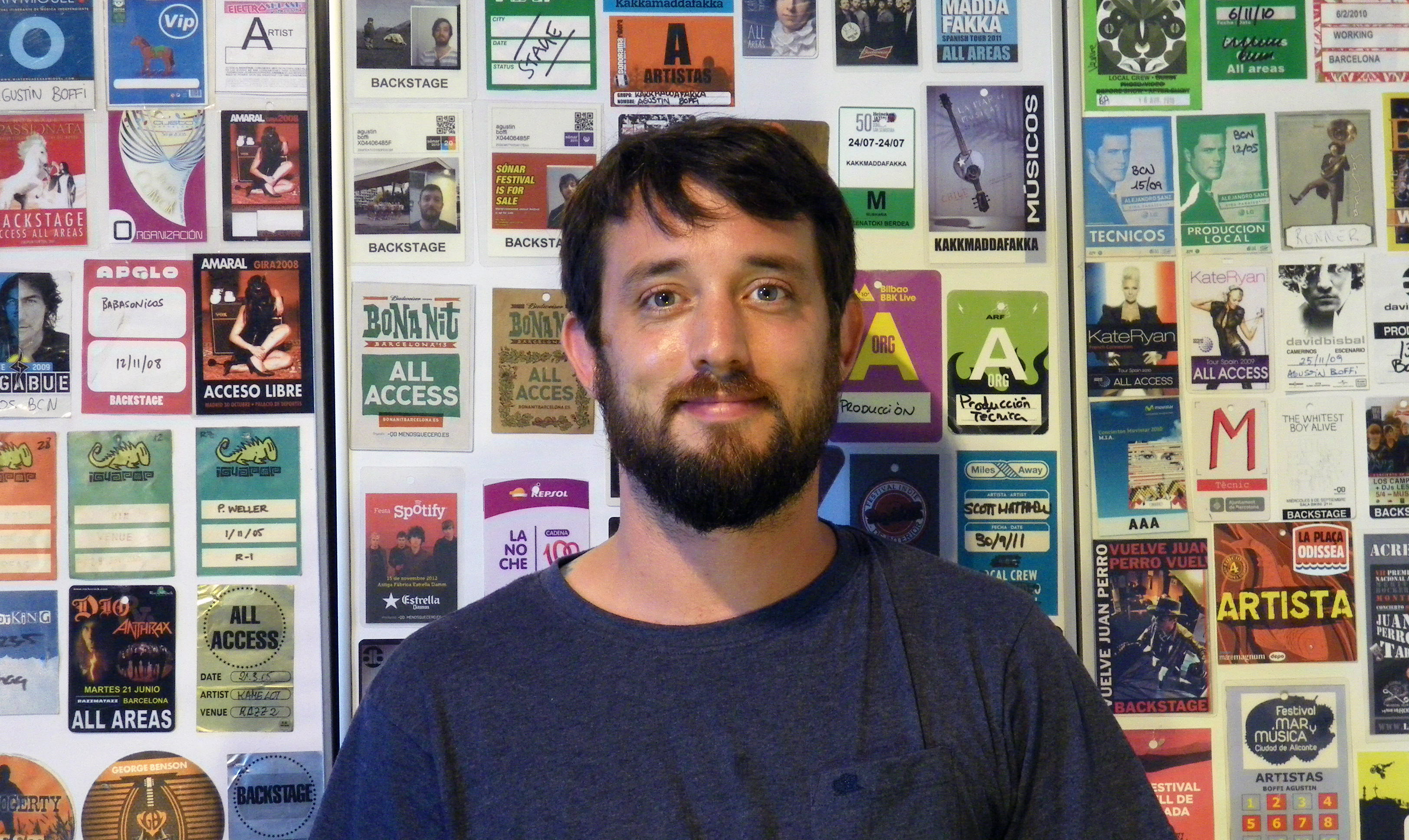 Hablamos con Agustin Boffi, Tour Manager de David Bisbal