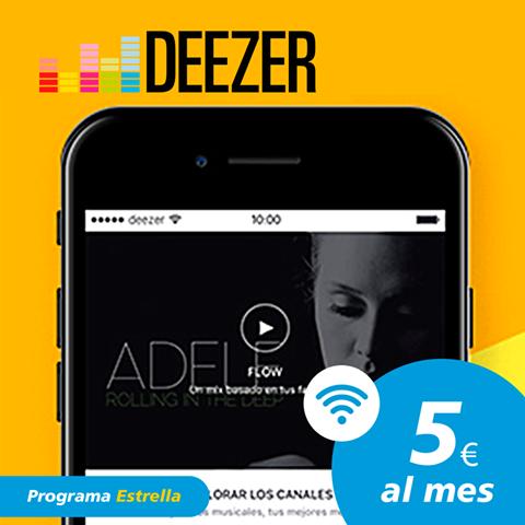 Deezer establece alianza en España con CaixaBank