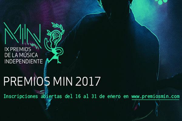 Arranca la 9ª Edición de los Premios MIN de la Música Independiente