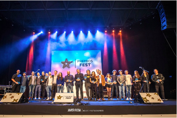 Todos los ganadores de los IV Premios Fest