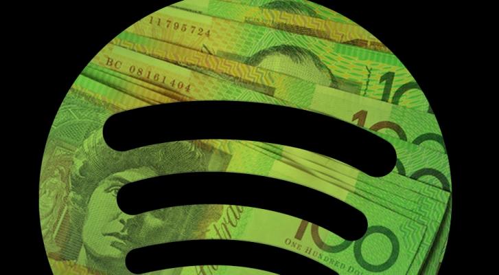 Spotify money dinero