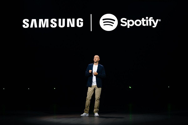 Spotify firma un acuerdo con Samsung para ser el proveedor musical de sus dispositivos