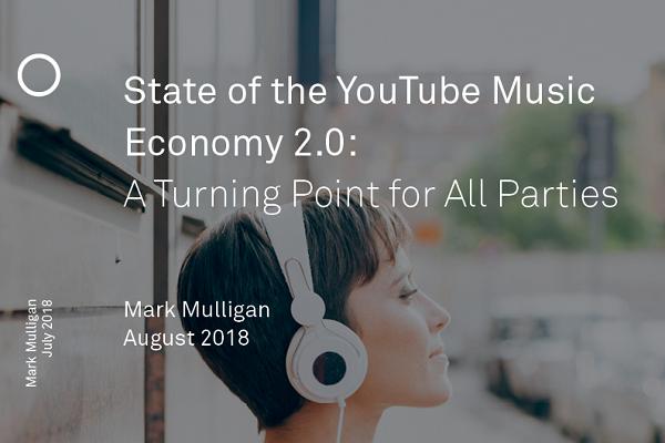 Los contenidos musicales de YouTube representan el 32% de las visitas y el 21% de los ingresos