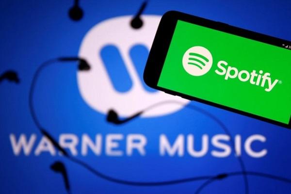 Warner confirma la venta de todas sus acciones de Spotify
