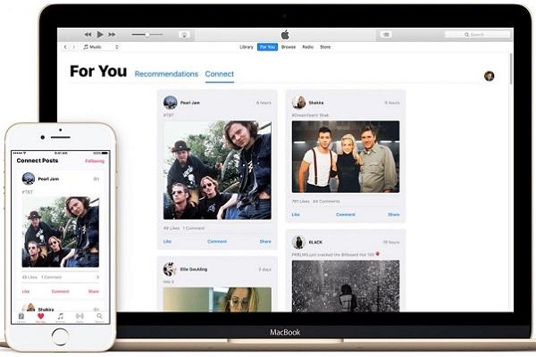 Apple cierra Connect dentro de Apple Music