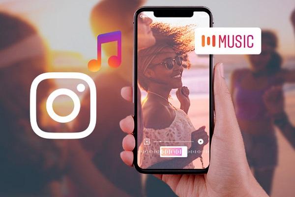 Instagram podría estar testando stickers con letras de canciones