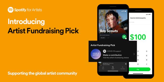 Spotify permitirá a los artistas recibir pagos directamente de sus fans
