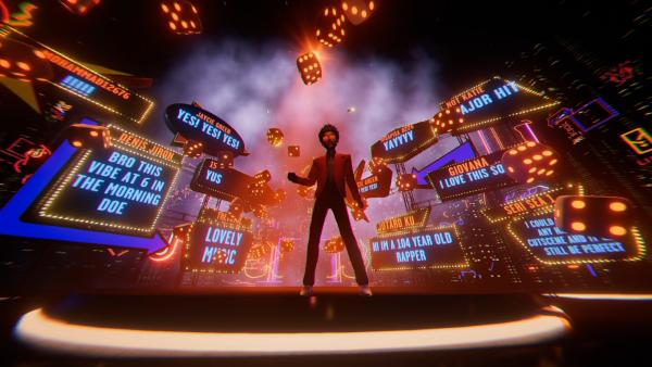 Concierto de The Weeknd a través de TikTok atrae 2 millones de espectadores