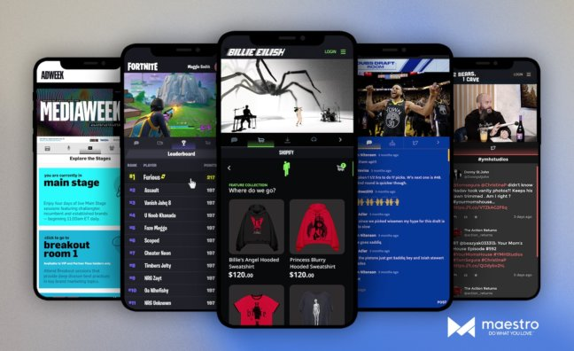 Sony Music invierte en plataforma de livestreaming Maestro